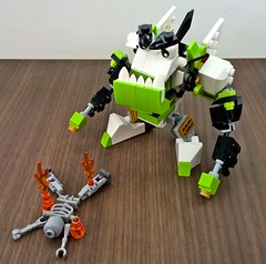 mixeld02 (chubbybots) Tags: lego mech moc mixels