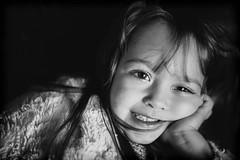 Crazy smile (specialistas69) Tags: portrait people blackandwhite monochrome kids dark photography child award indoor bnw mohochrome specialistas69