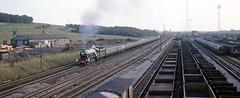 On home ground (Lost-Albion) Tags: newcastle 1975 britishrail flyingscotsman lner 4472 tyneyard charlesdean