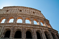 Colosseum (David Delisio Photography) Tags: old summer vacation italy rome nikon ruins europe roman culture colosseum empire gladiator d90 daviddelisio