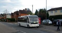 48 Solo: the second installment (bobsmithgl100) Tags: bus surrey solo sr brookwood optare connaughtroad fja route48 dicksontravel kx14 kx14fja