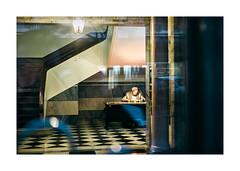 So Sebastio, Lisboa (Sr. Cordeiro) Tags: street portugal night 35mm fuji lisboa lisbon entrance reception entrada noite fujifilm f2 rua reflexos fujinon porteiro wr doorman recepo reflexes sosebastio xf sosebastiodapedreira xpro1