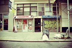 Double Down (Jodie Dobson) Tags: street nyc newyorkcity urban usa ny newyork trash america canon chair thecity streetscene rubbish bigapple 6d thebigapple urbanstreet flickrnyc nycblizzard canon6d flickrradlab jetfeb16