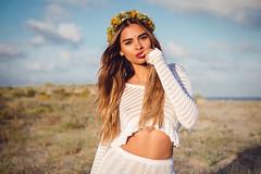 """Babymilk fest"" Editorial for Babymilk (Oscar Minyo) Tags: portrait woman beach girl make up fashion hair model nikon teen editorial redlips brunette browneyes 2470mm d610"