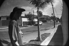 (catatonic0) Tags: chile street bw film 35mm weed kodak smoke bn arica marihuana