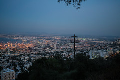 Haifa, Near Bah' Gardens (Romeo Alaeff) Tags: israel telaviv bahai haifa bahaitemple bah bahtemple bahaigardens bahgardens