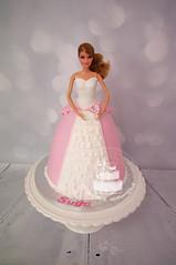 Barbie Cake (toertlifee) Tags: törtlifee geburtstagstorte birthdaycake geburtstag kinder kids cake torte happybirthday barbie doll dress kleid pink rosé mädchen girl