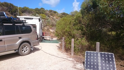 Stop 23 at Pondalowie Bay campsite (Innes National Park)