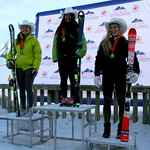 FIS Slalom at COP, Calgary, Alberta - U18 Women Day 2