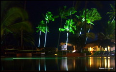 Midnight Dip...? (Pablo101) Tags: night dark lowlight dominicanrepublic slowshutter domrep puntacanaprincess