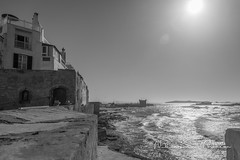 Essaouira (Nikosan Photographie) Tags: ocean voyage trip travel sea blackandwhite bw seascape photography photo cityscape photographie noiretblanc wb nb atlantic morocco maroc atlanticocean whiteandblack atlantique ocan ocanatlantique