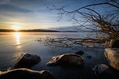 Frozen Branches (@Tuomo) Tags: winter sunset lake ice finland landscape frozen nikon df january nikkor jyväskylä päijänne kärkinen korpilahti 1424mm kärkistensalmi