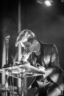 April 10, 2015 // Panic At The Disco at Festivaltaz // Shot by Brandon Lowe