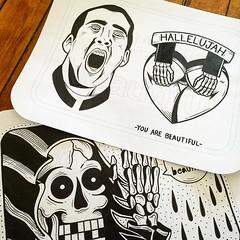 MAX WEBER (billy craven) Tags: youarebeautiful streetartchicago stickergame galerief yabsticker
