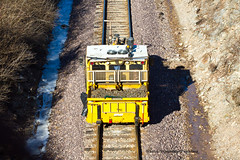 Maintenance at Work (tim_1522) Tags: railroad sub cuba rail mo missouri bnsf subdivision trackwork railfanning burlingtonnorthernsantafe maintenenceofway trackequipment
