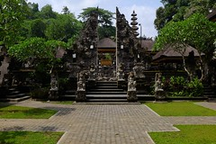 Balinese Temple (Julien Falissard) Tags: world voyage travel bali cliff house beach field river religious pepper temple monkey boat construction sand squirrel waterlily chairs paddy path cove south religion relaxing culture roadtrip around asie backpacker status balinese 2016 indonsia