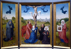 Van der Weyden, Crucifixion Triptych, c. 1445