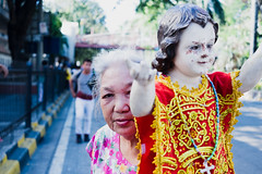 18/365 (Nico Francisco) Tags: street old woman color lady catholic faith religion jesus christian rosary stonino