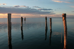 stargate (Blue Spirit - heart took control) Tags: venice sunset sea tramonto mare stargate laguna venezia pellestrina