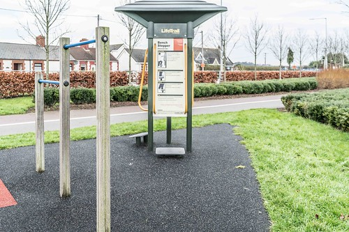 Wind Powered Public Park In Clongriffin Dublin [Father Collins Park]-110999
