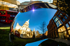 ADSC_4568 (Russell Bruce Photography) Tags: england sun reflection london art church landscape photography nikon worship photographer russell place outdoor bruce christopher sunny professional chrome sphere dome wren stpaulscathedral sir d800 londonphotographer d800e wwwlondonphotographerlondon