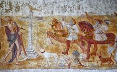 La Danse Macabre de l'glise de La Fer-Loupire dans l'Yonne. Le Dict des Trois Morts et des Trois Vifs (jjcordier) Tags: mort bourgogne glise fresque dansemacabre peinturemurale yonne puisaye dict lafertloupire