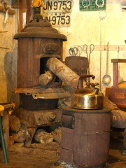 Old Time (squitten) Tags: fire taiwan burn stove