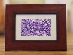 Small Purple (Alkaline Samurai) Tags: purple mini tiny inkart arlendean alkalinesamurai