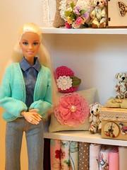 Crafty Rat - Pre-Easter Peek (rata-tat-tat) Tags: dolldiorama barbiediorama barbiepivotal