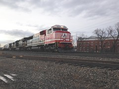 (Fan-T) Tags: ns 911 hudson norfolksouthern sd60e honorfirstresponders