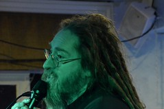 More wizardry (Nick Vidal-Hall) Tags: gig livemusic openmic slampoet rapunzelwizard theboothhall
