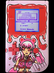 Gloomy Bear Super Sonico Custom Gameboy (Pullipprincess) Tags: bear pink cute art artwork paint gloomy geek character nintendo super games videogames gaming kawaii gloomybear customized nitro custom gameboy dmg supersonico sonico