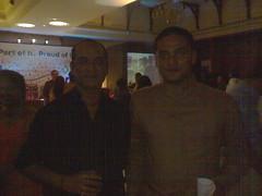 with singer bhijeet bhattacharya @ GOA, India, 2007