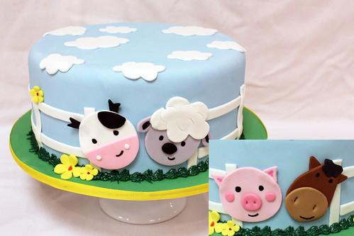 Barnyard Designer Cake
