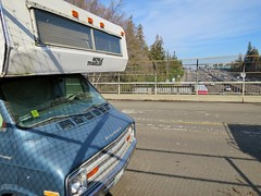 Mobile Traveler (rickele) Tags: overpass sacramento rv motorhome highway99 cabover mobiletraveler stealthcamping freeway99