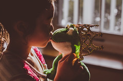 Charming 35/366 (Watermarq Design) Tags: kids fairytale afternoon frog charming makebelieve lightandshadow afternoonsun lightanddark frogprince project366 lightinspired