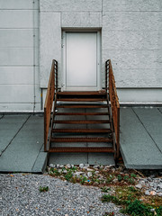 rust. (angsthase.) Tags: door green metal stairs germany deutschland rust cityscape treppe nrw grn rost ruhrgebiet dortmund 2014 ruhrpott mft micro43 lumixg20f17 epl5 olympuspenepl5