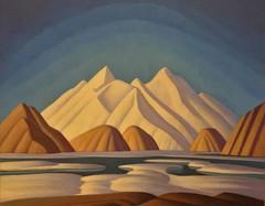 Lawren Harris painting, Baffin Island (OttawaRocks) Tags: ontario canada art painting gallery arctic ago baffinisland lawrenharris