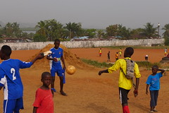 Millennium Stars Saturday morning practice (GedN) Tags: kids ball children foot football play kick soccer skills practice monrovia liberia