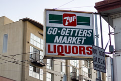 Go-Getters Market (Tony Webster) Tags: sanfrancisco california us unitedstates hayesvalley liquors 7up goughstreet donotblockintersection gogettersmarket 61goughst cvcsec22526