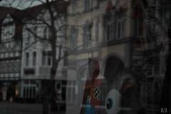 Reflection (MrHansFromSomewhere) Tags: reflection fog analog shopping germany sony rainy adapter m42 niedersachsen lowersaxony hameln 2016 tessar carlzeissjena sonyalpha a6000 legacyglass carlzeissjena50mmf28tessar sonyimages ilce6000