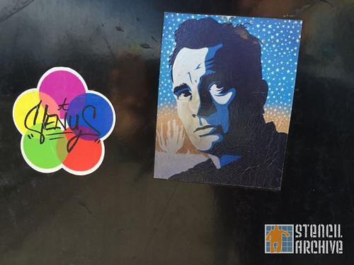 CO_Boulder_Man in Stars_Sticker