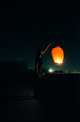 Chinese Lantern, Uttrayan - 2016 (Leakefan) Tags: festival key indian low chinese lo lanterns lantern lowkey sankranti makar chineselanterns chineselantern uttrayan lokey indianfestival makarsankranti