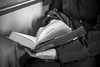 Enjoy the reading (eliana bonanno) Tags: blackandwhite reading book photo foto libro tram books hobby read libri leggendo enjoy lettura biancoenero trieste leggere novelle passatempo pirandello fotoinbiancoenero centonovelle