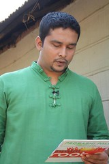 "Sufi Faruq Ibne Abubakar hosting the Reality Show TV Program ""Forgotten Roots"""