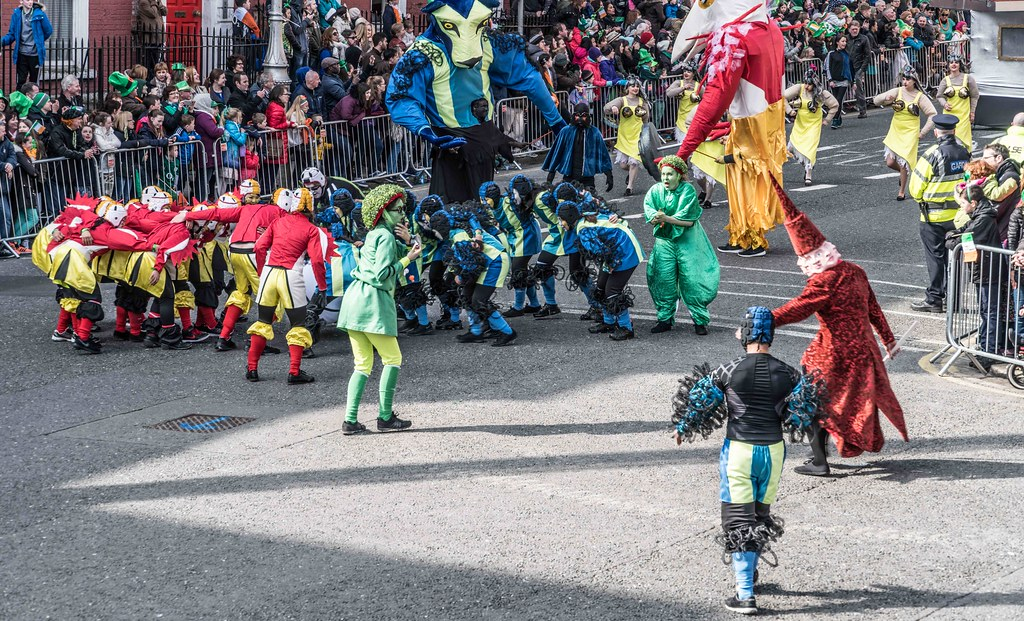 GAME ON BY CITY FUSION [DUBLIN 2016 PATRICK'S DAY PARADE]-112563