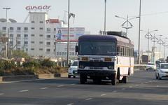 MSRTC Hirkani Spotted at Wakad Pune (gouravshinde94) Tags: msrtc bua bus hirakani asaid miraj sangli