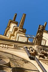Eglise Sainte Eustache (caploncour) Tags: paris architecture eglise gargouille sainteustache