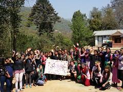 Didi events group (rukmini_foundation) Tags: nepal colors celebration holi didi mentoring