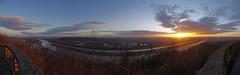 K7GG9077 Panorama_1_1 (Forstrad) Tags: vienna sunrise danube leopoldsberg